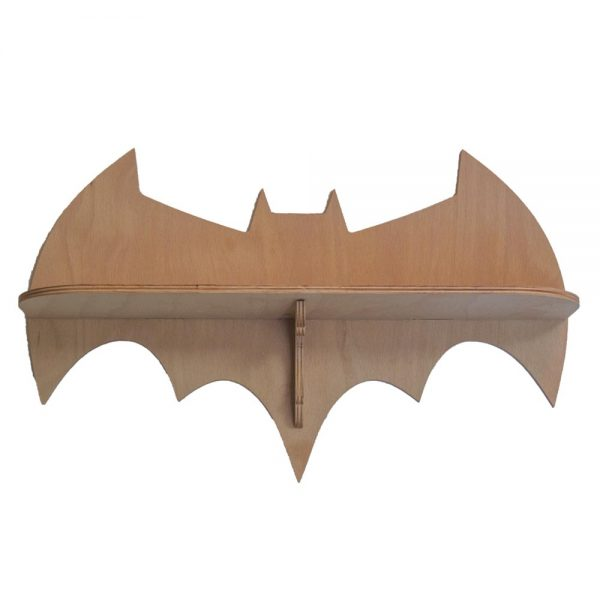 Výroba nábytku Novák - Dřevěná polička Batman 3