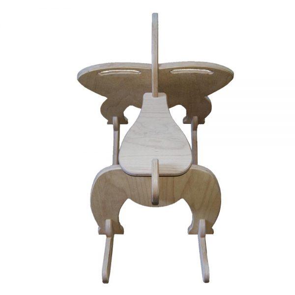 Výroba nábytku Novák - Dřevěný houpací slon 3